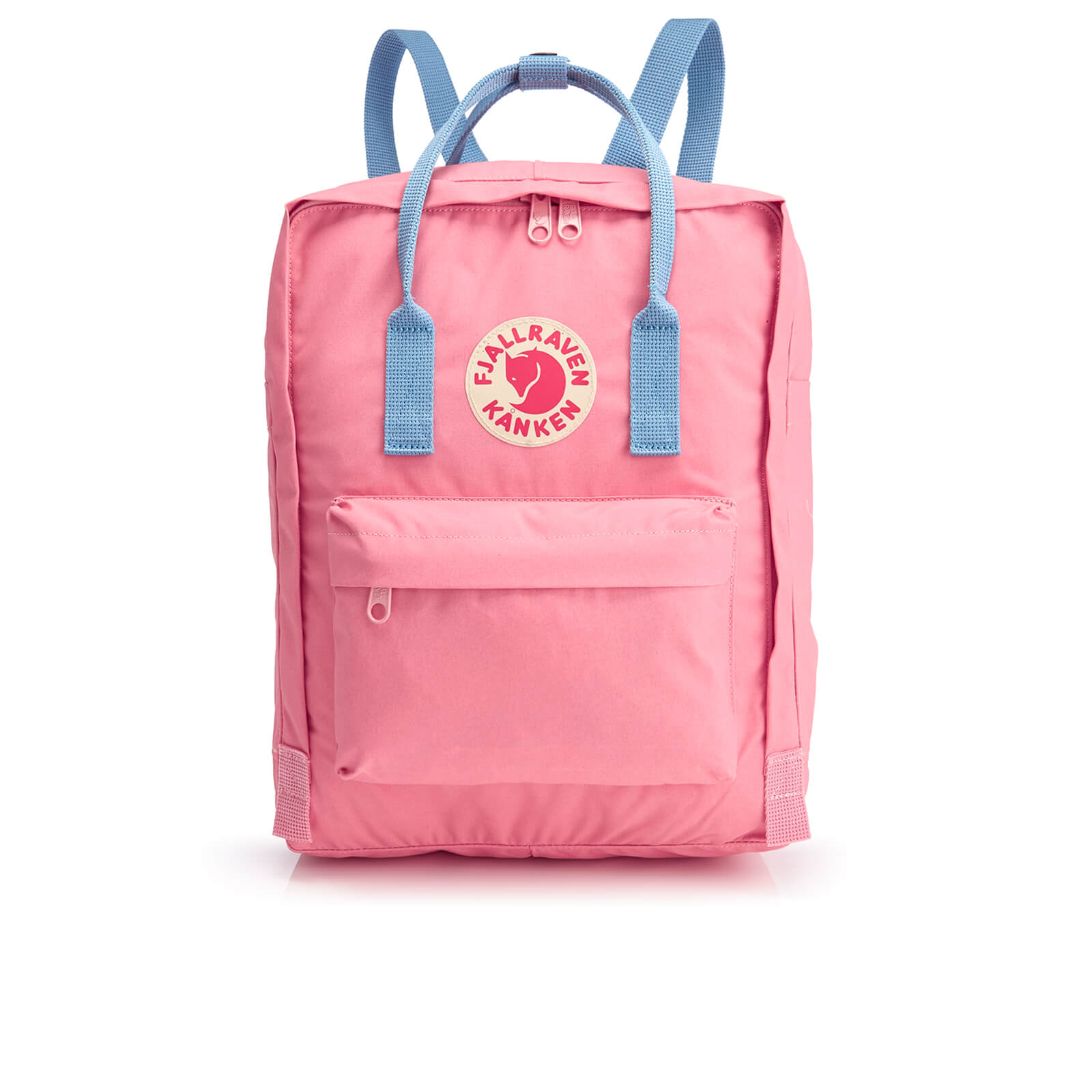 fe0b5b8d8bd Fjallraven Kanken Backpack - Pink Air Blue Mens Accessories
