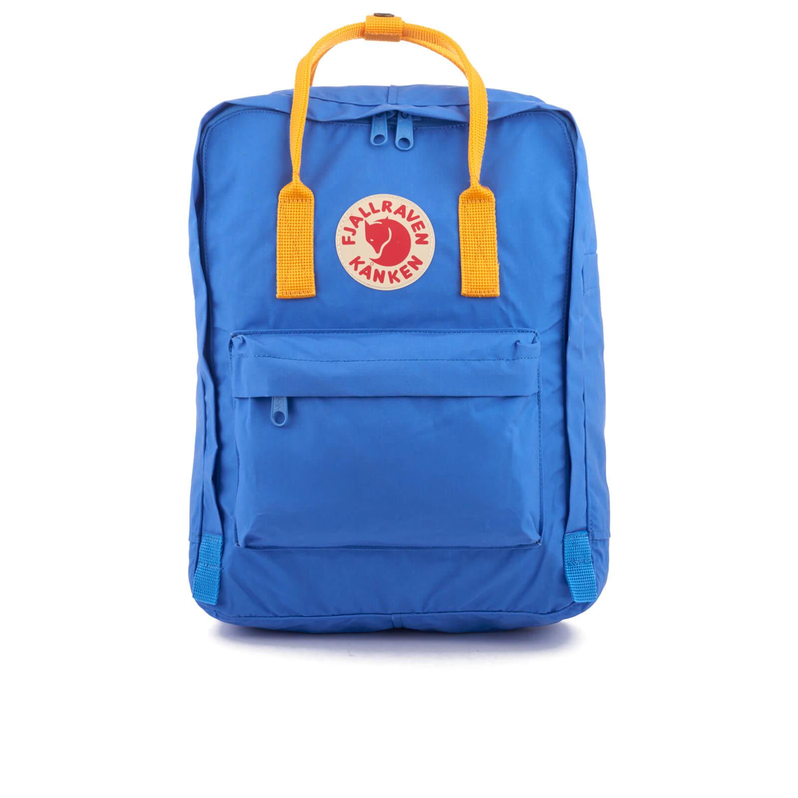 enorme verkoop een grote verscheidenheid aan modellen verenigd koninkrijk Fjallraven Kanken Backpack - UN Blue/Warm Yellow