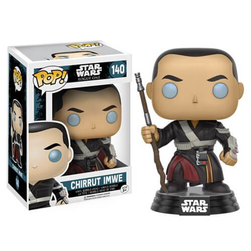 Star Wars Rogue One Chirrut Imwe Pop! Vinyl Bobble Head
