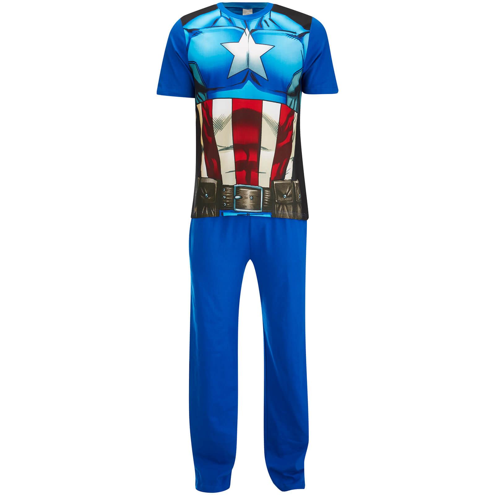 capitan pijama hombre america del del pijama 0OtO7R
