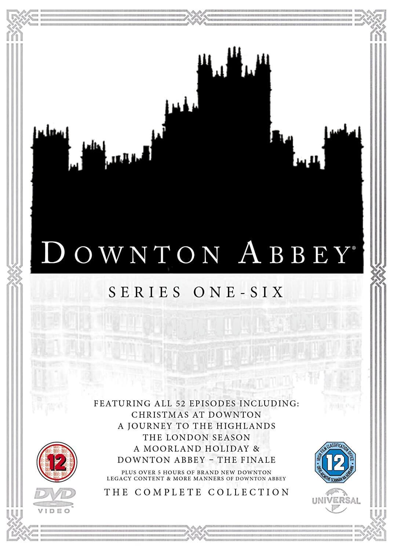 Downton Abbey - Series 1-6 with Christmas Specials DVD | Zavvi