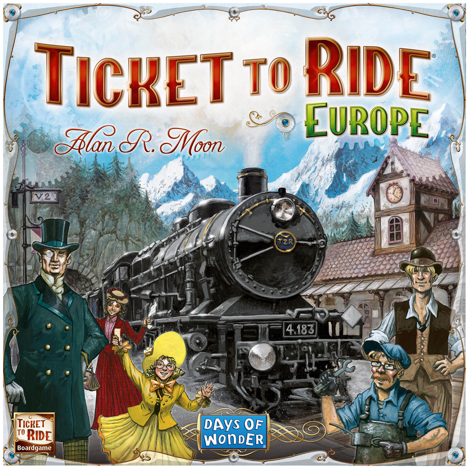 how to play ticket to ride europe