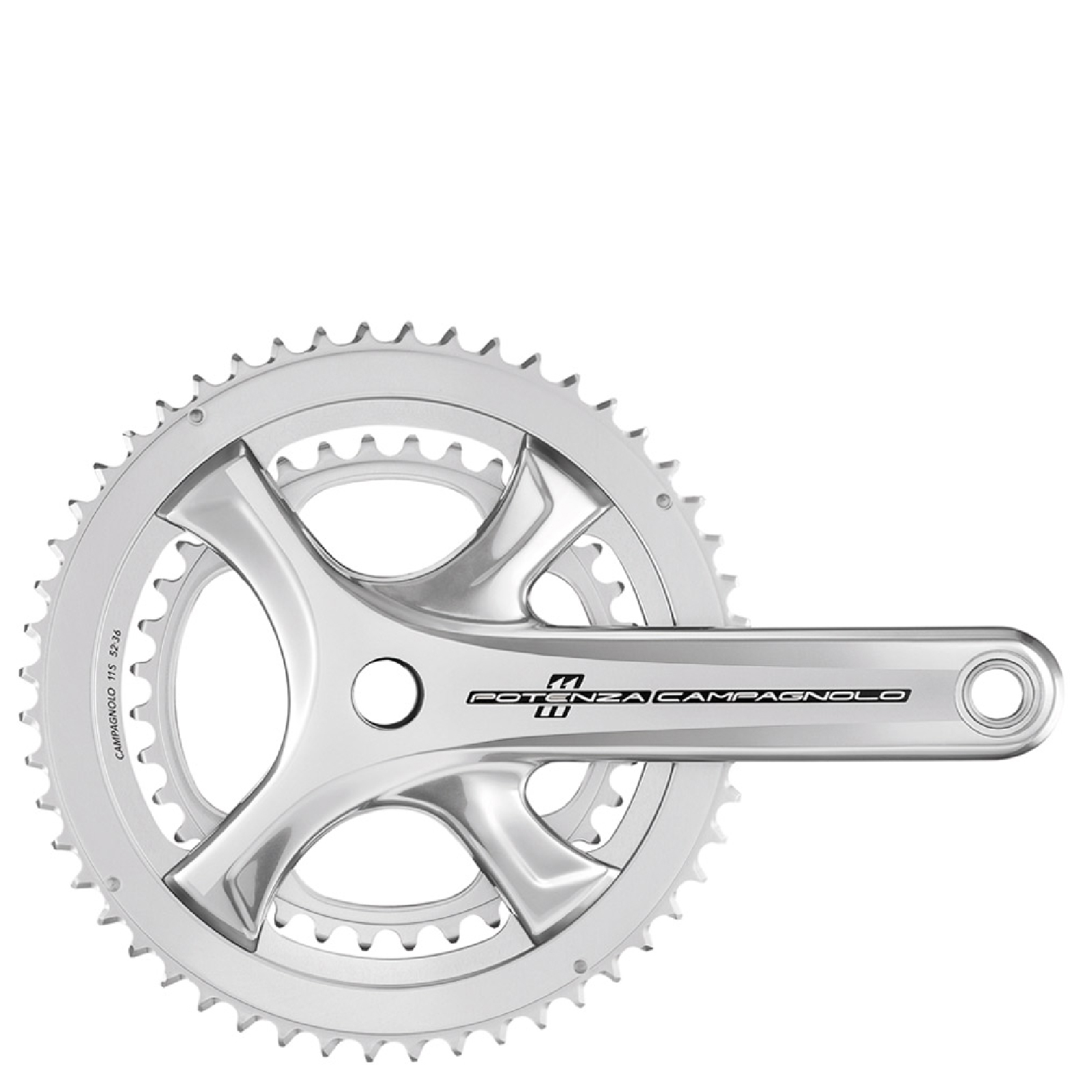 Campagnolo Potenza 11 Speed Power Torque Chainset - Silver