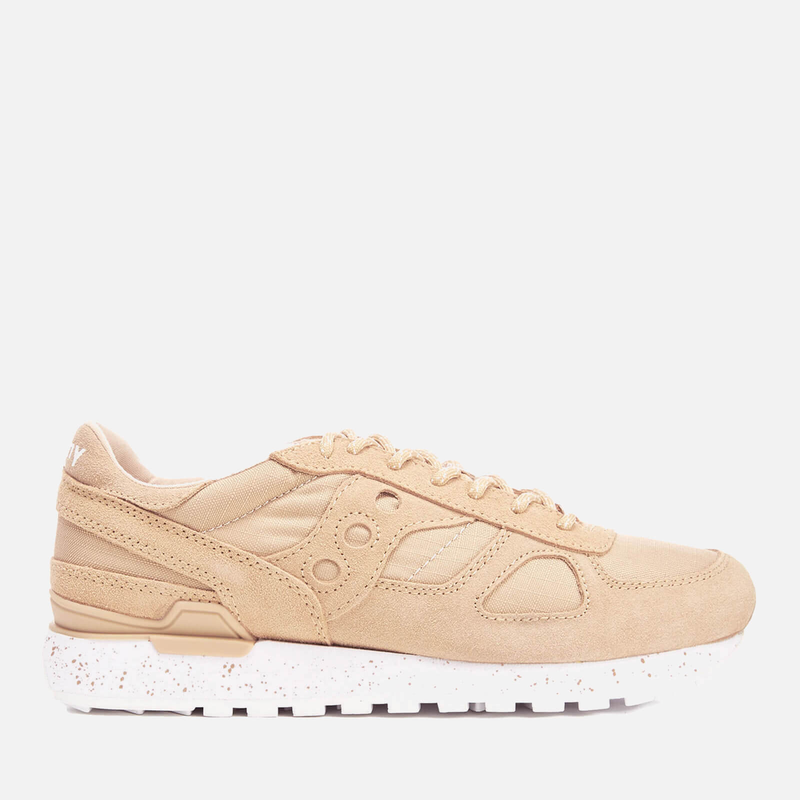 differently b6c5b 0914c Saucony Men's Shadow Original Ripstop Trainers - Light Tan