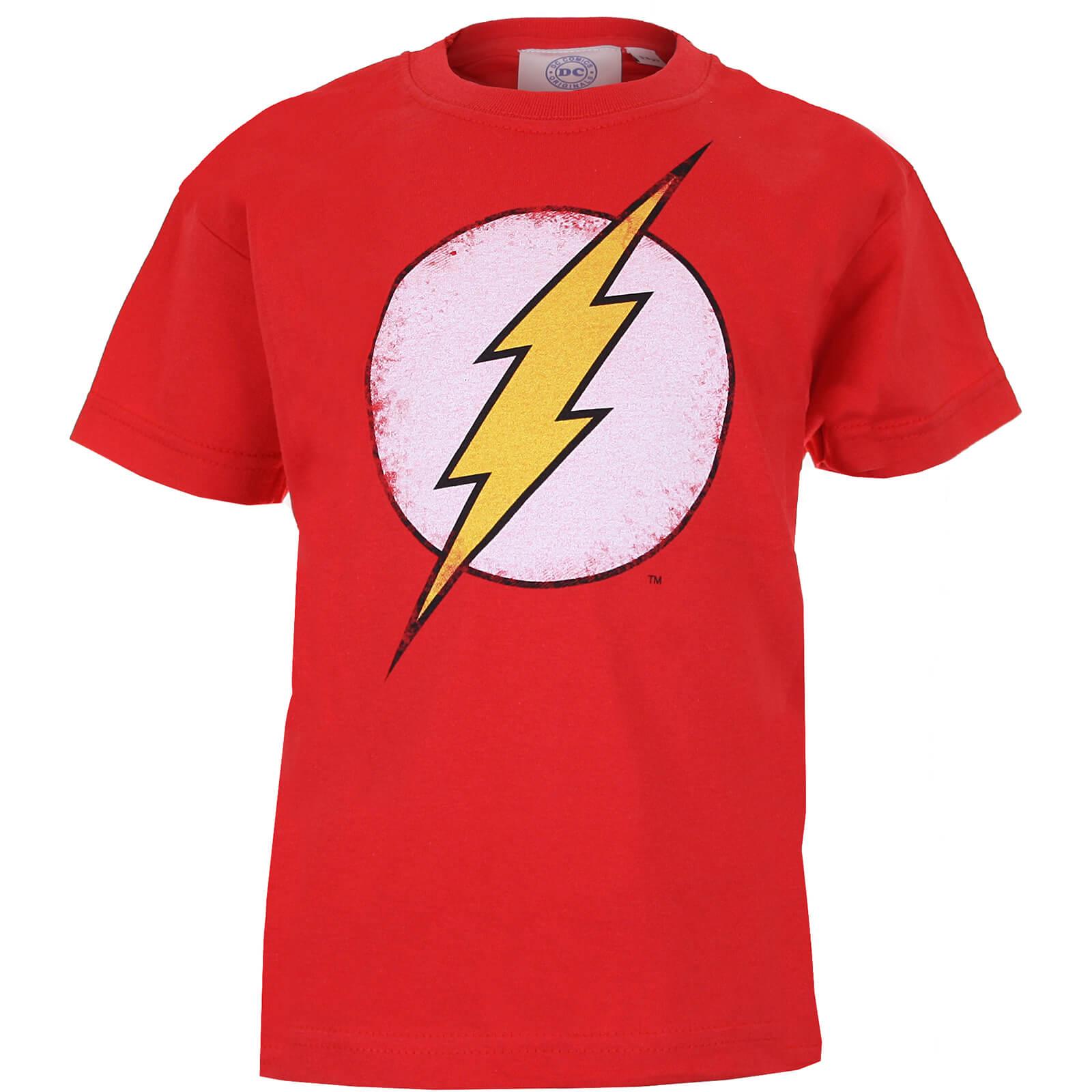 0101e5d9a Camiseta DC Comics Flash Logo - Niño - Rojo Merchandise
