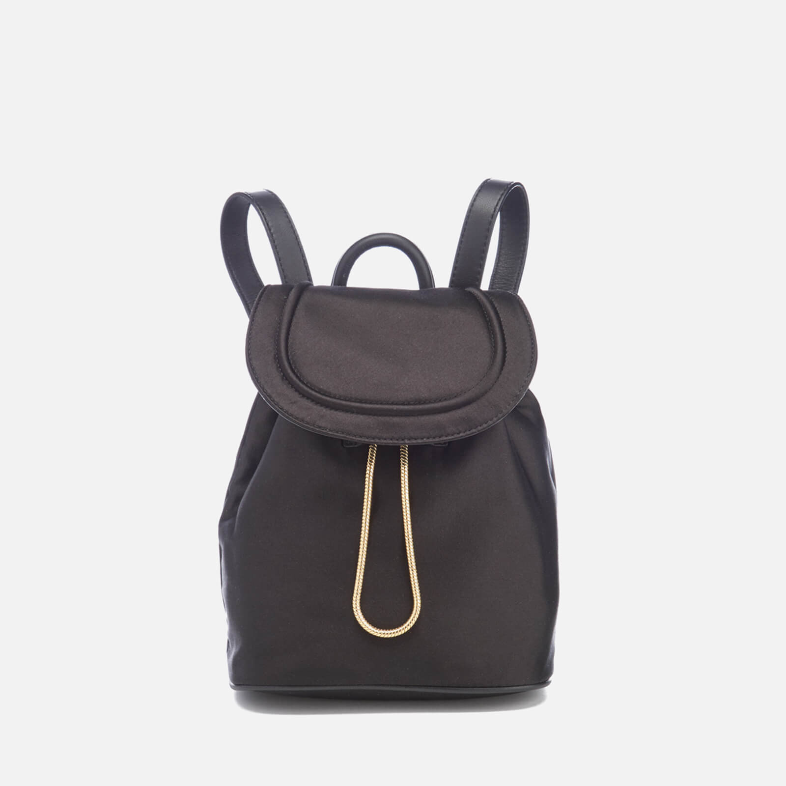 9097d1904bbb Diane von Furstenberg Women s Satin Backpack - Black - Free UK ...