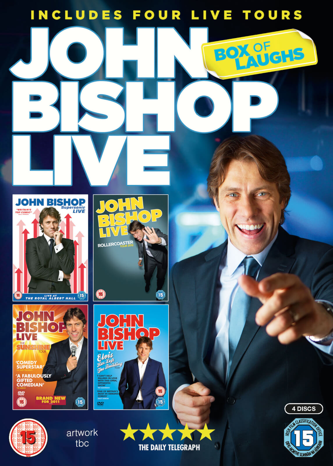 John Bishop Live: Box Of Laughs