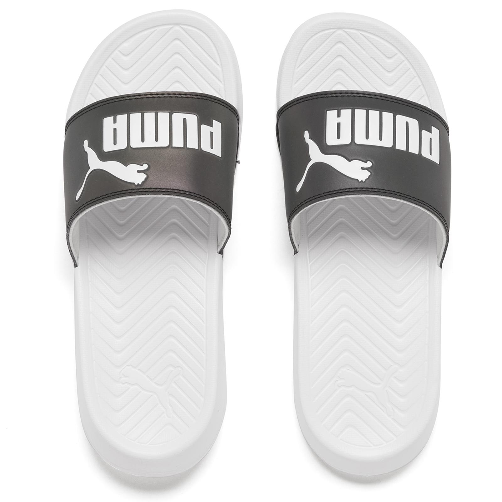 62ad025e6d Puma Women's Popcat Swan Slide Sandals - Puma White