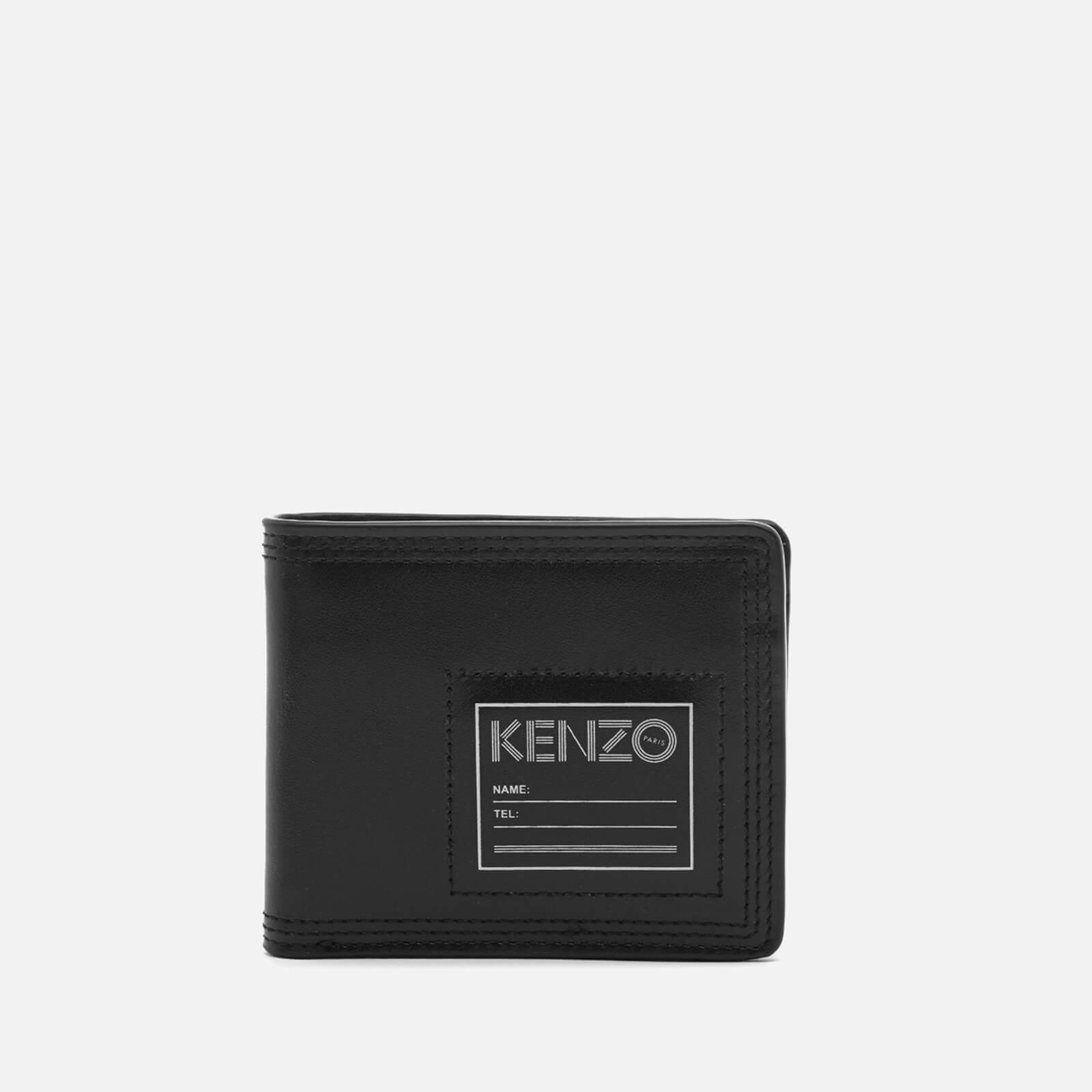 f1fda8550417 KENZO Men's Leather Card Wallet - Black - Free UK Delivery over £50