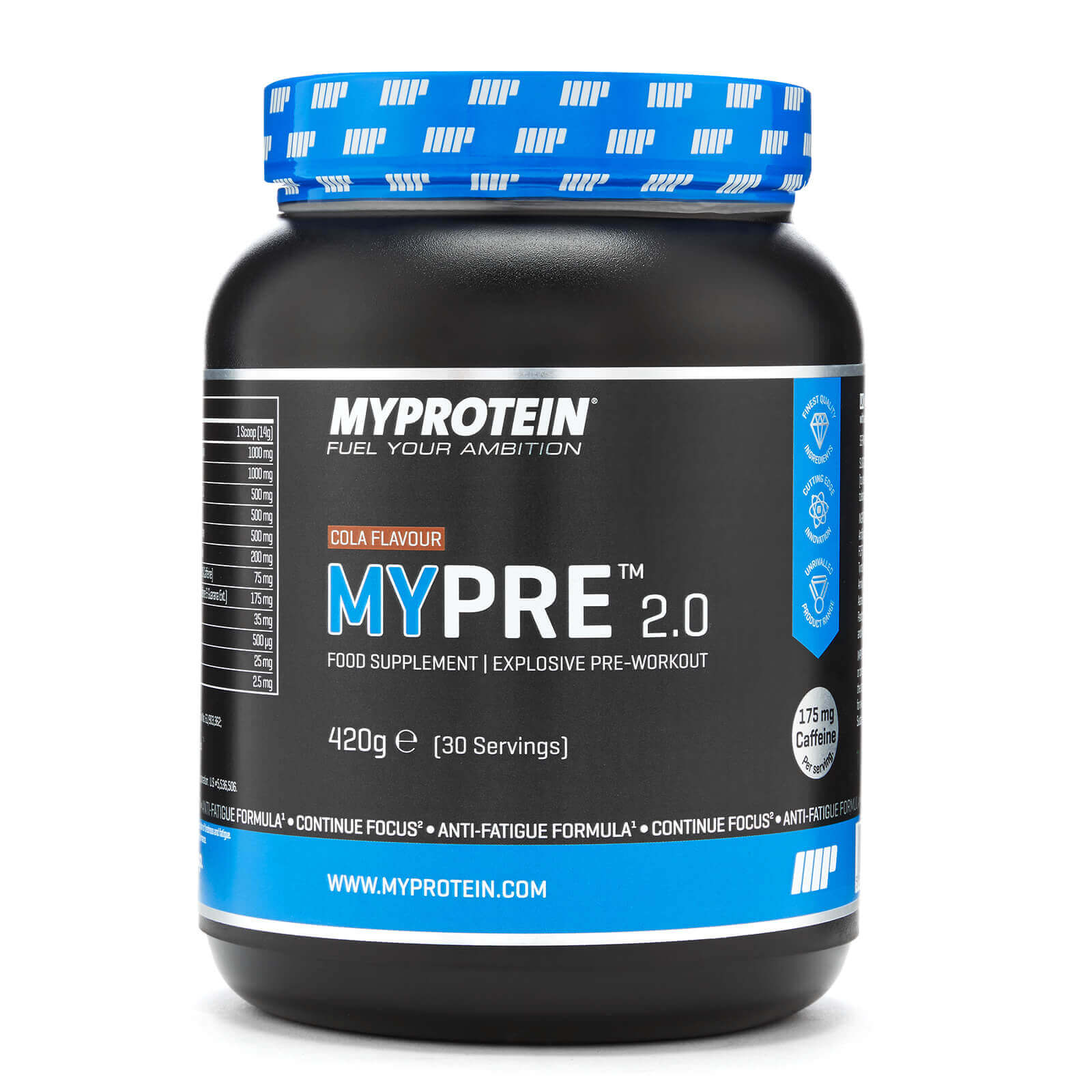 MYPRE V2, Cola, 30 Servings