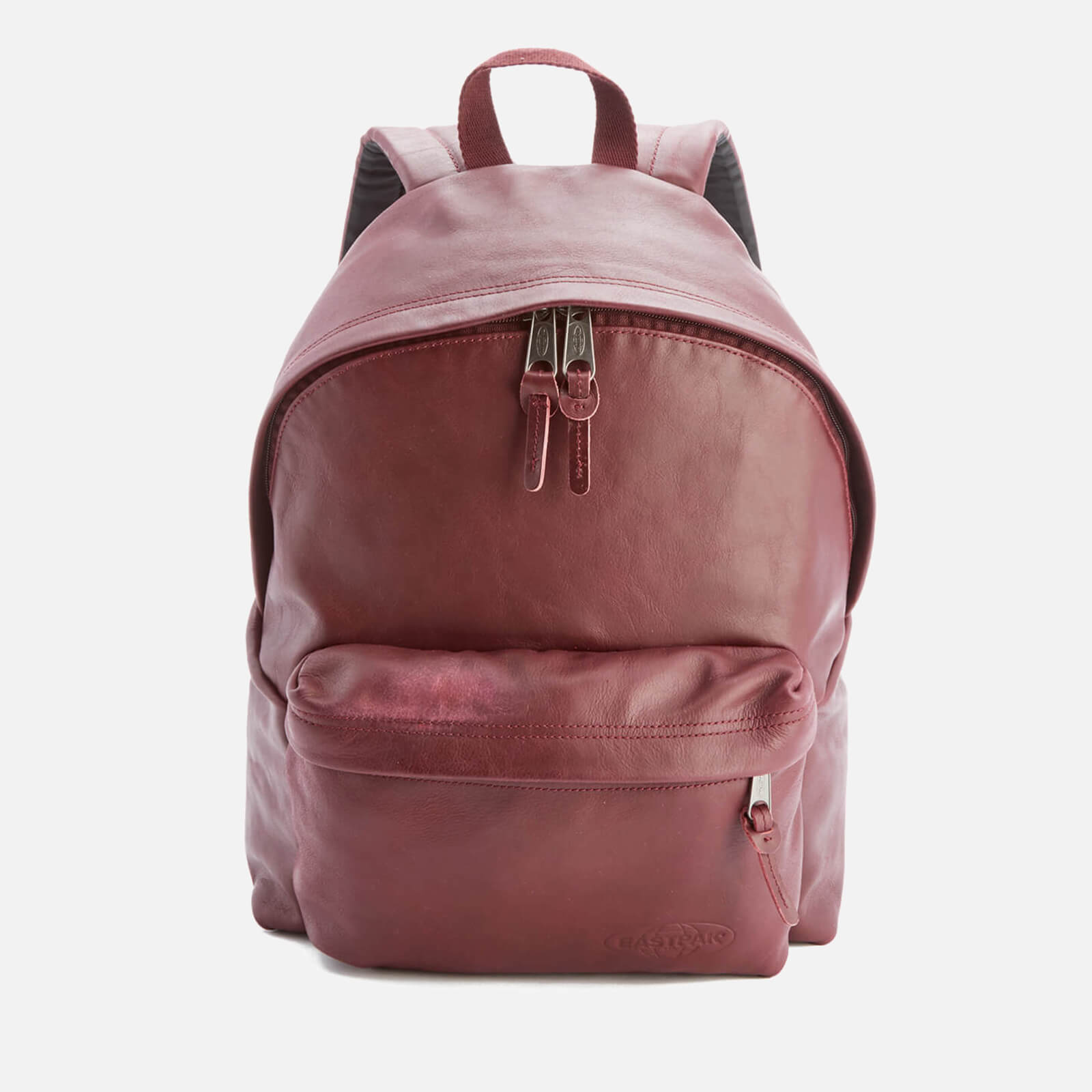 7c6a522d6 Eastpak Padded Pak'r Leather Backpack - Oxblood
