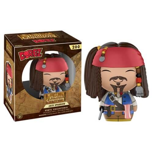 Pirates of the Caribbean Jack Sparrow Dorbz Vinyl Figure