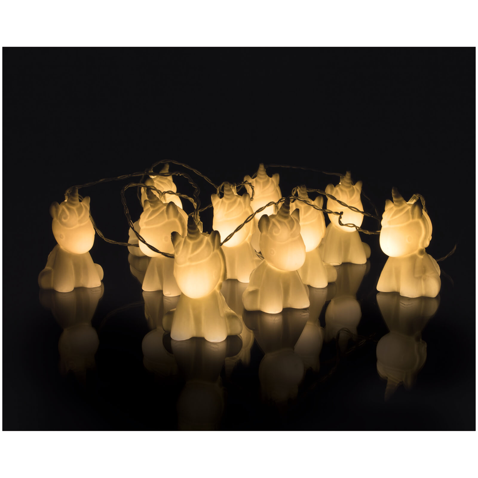 Unicorn String Lights - White
