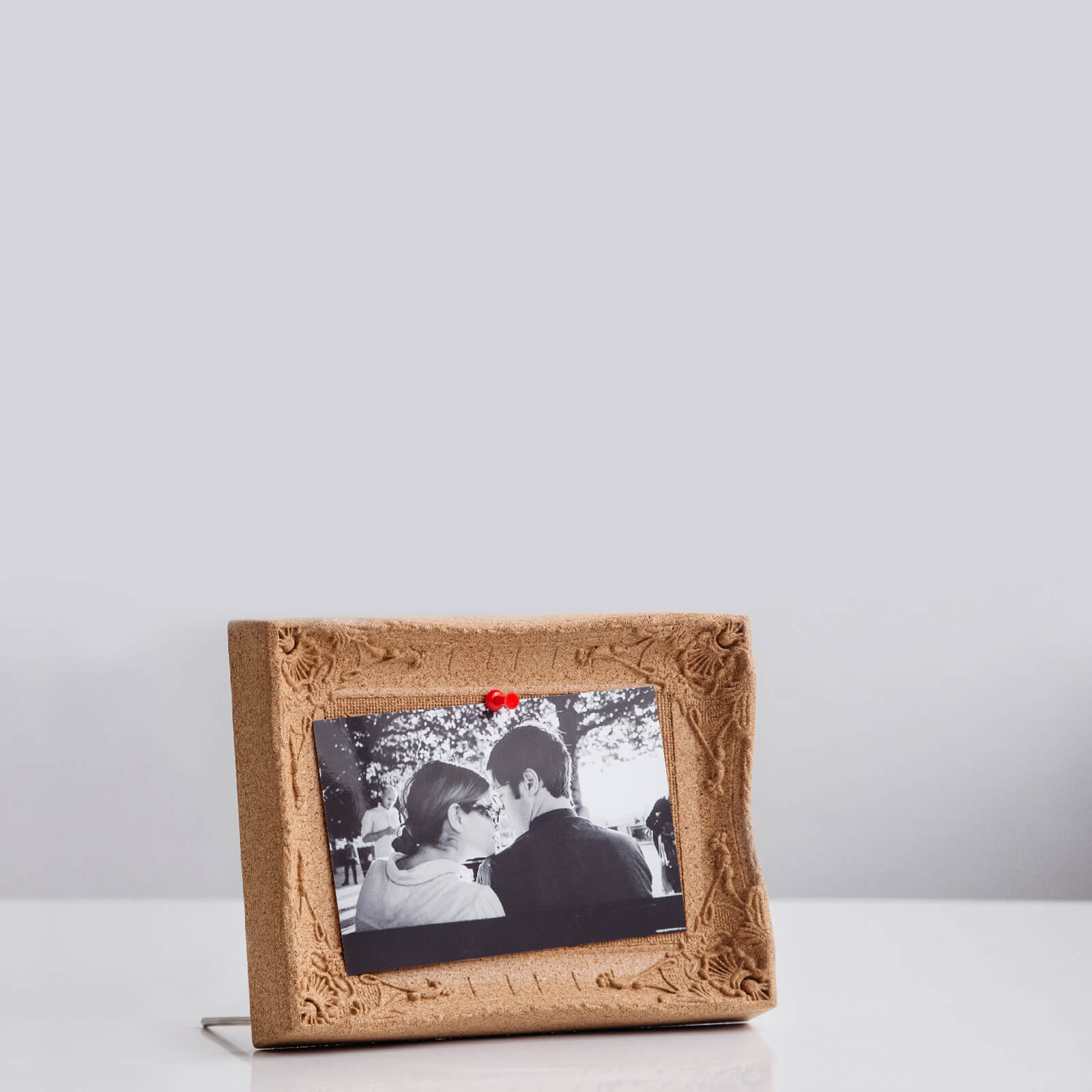 Desktop Cork Board Picture Frame