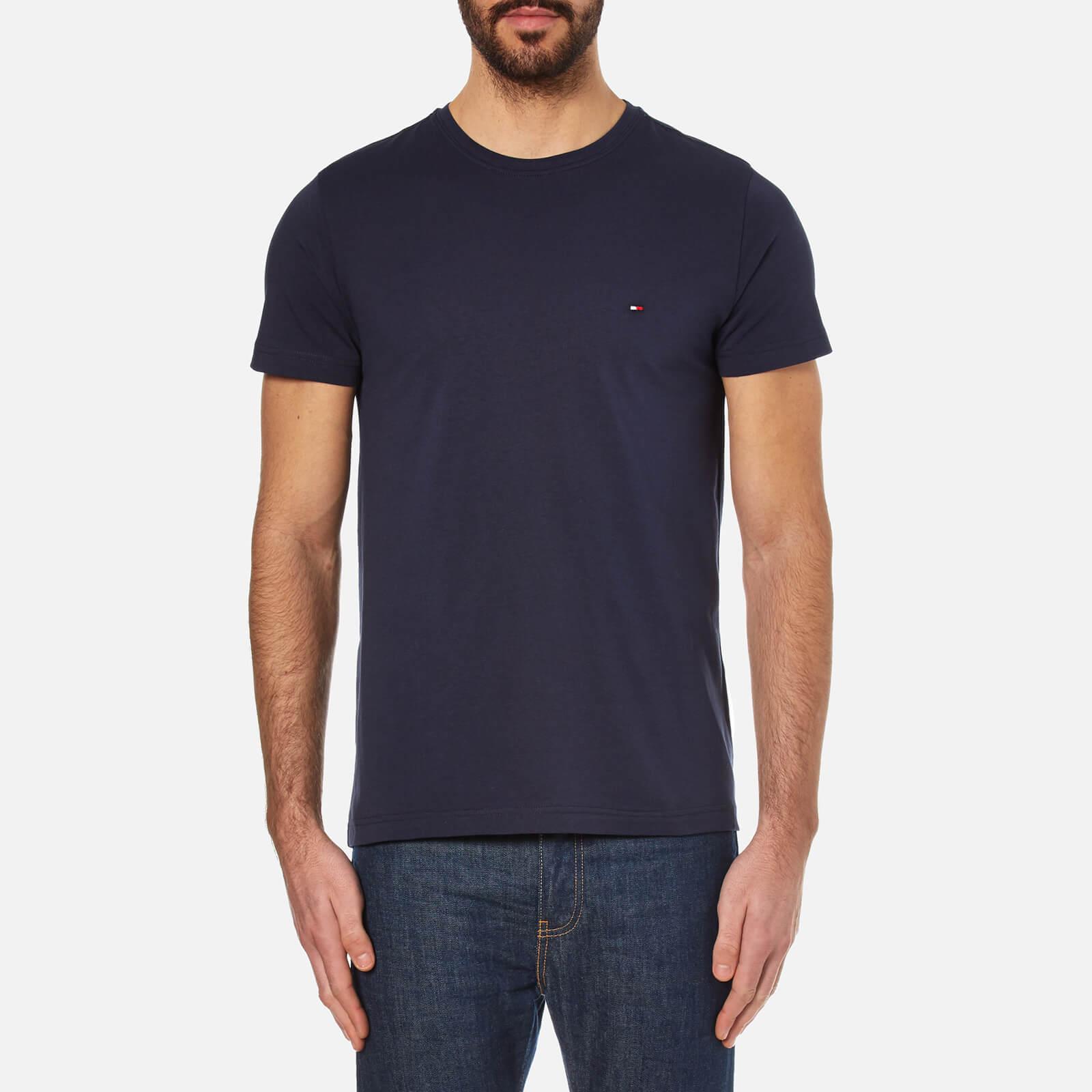 Tommy Hilfiger Navy New Stretch T Shirt