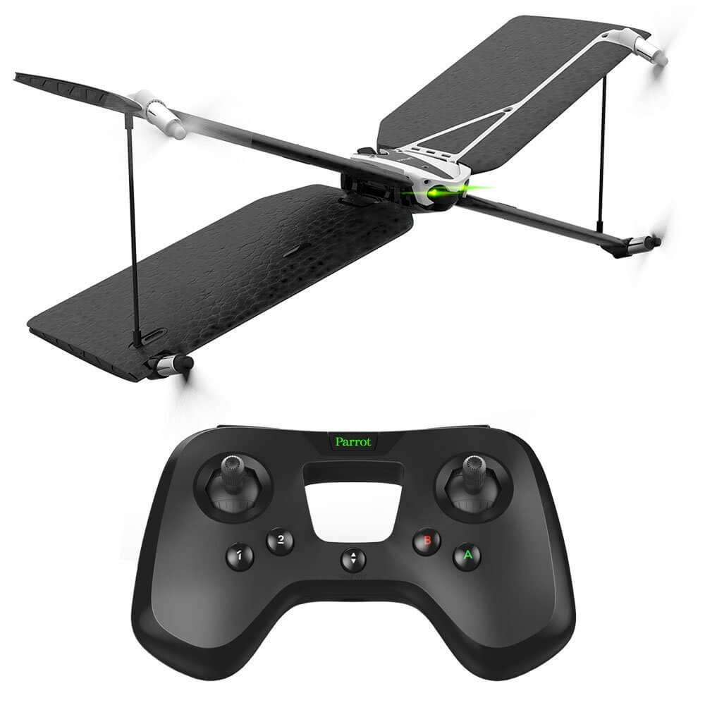 Parrot Swing Quadcopter and Plane Minidrone with Flypad Controller