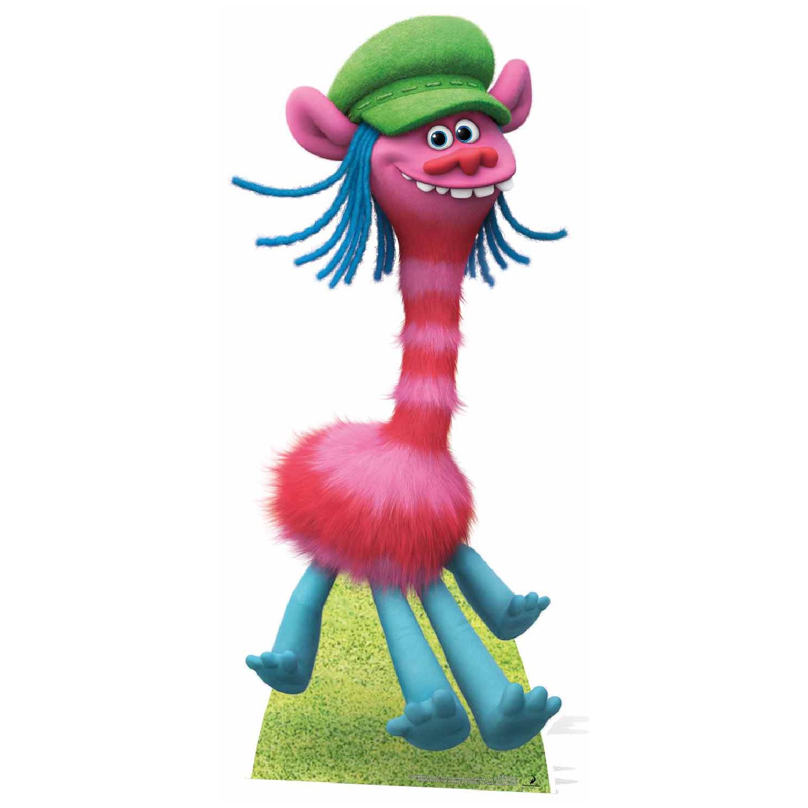 Trolls Cooper Giraffe-Like Troll Cutout   IWOOT