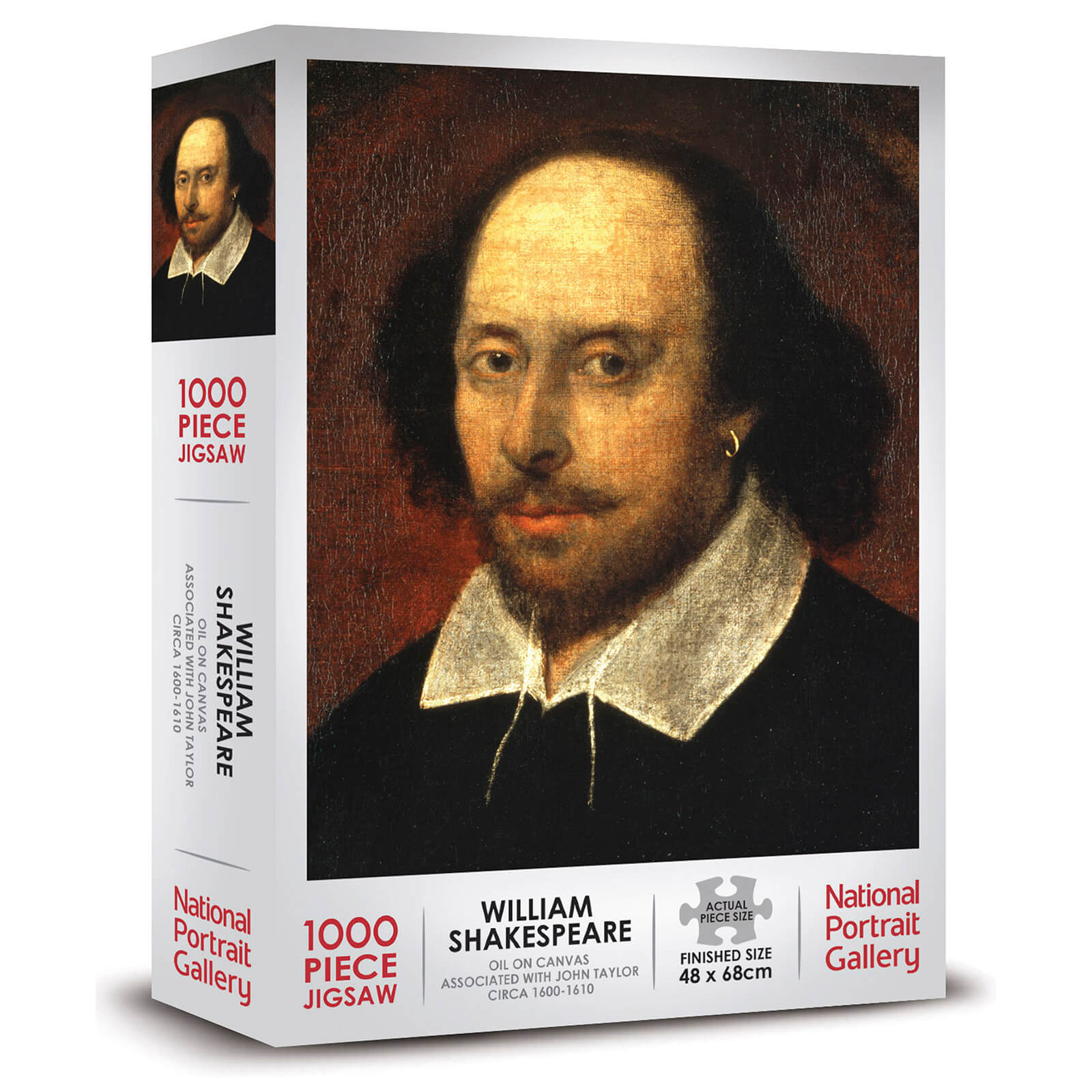 William Shakespeare 1000 Piece Jigsaw