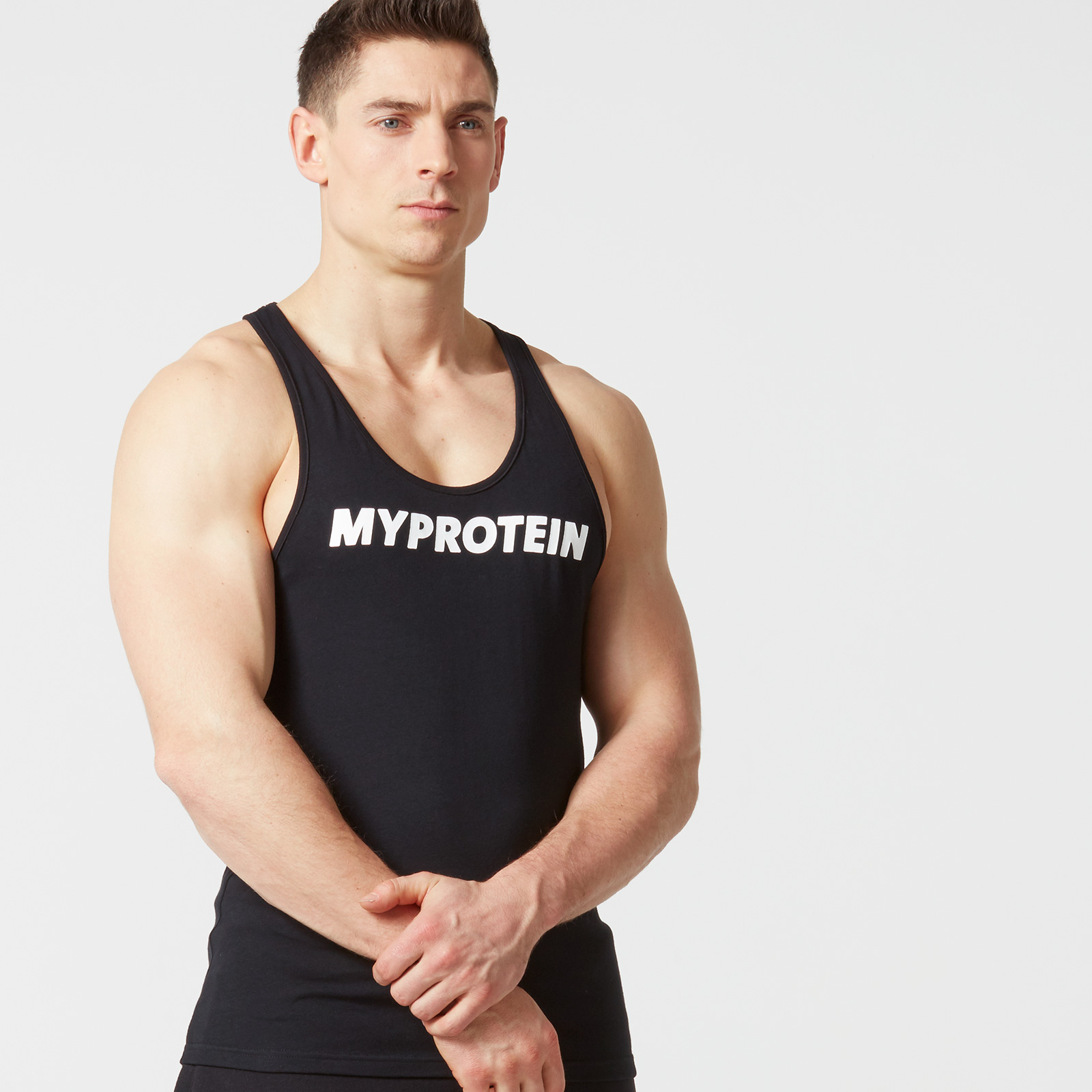The Original Stringer Vest - Black - S