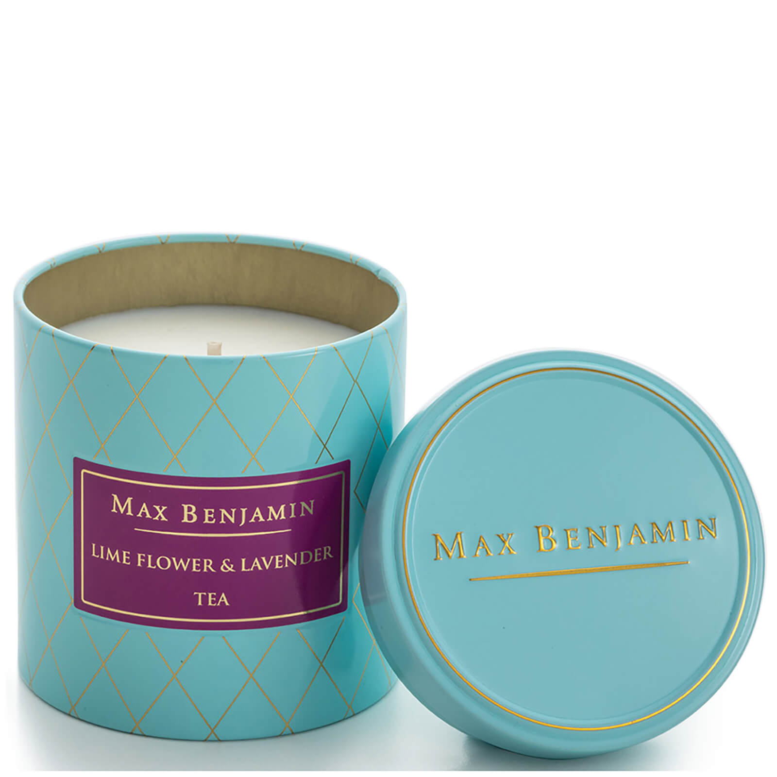 Max Benjamin Scented Candle - Lime Flower and Lavender