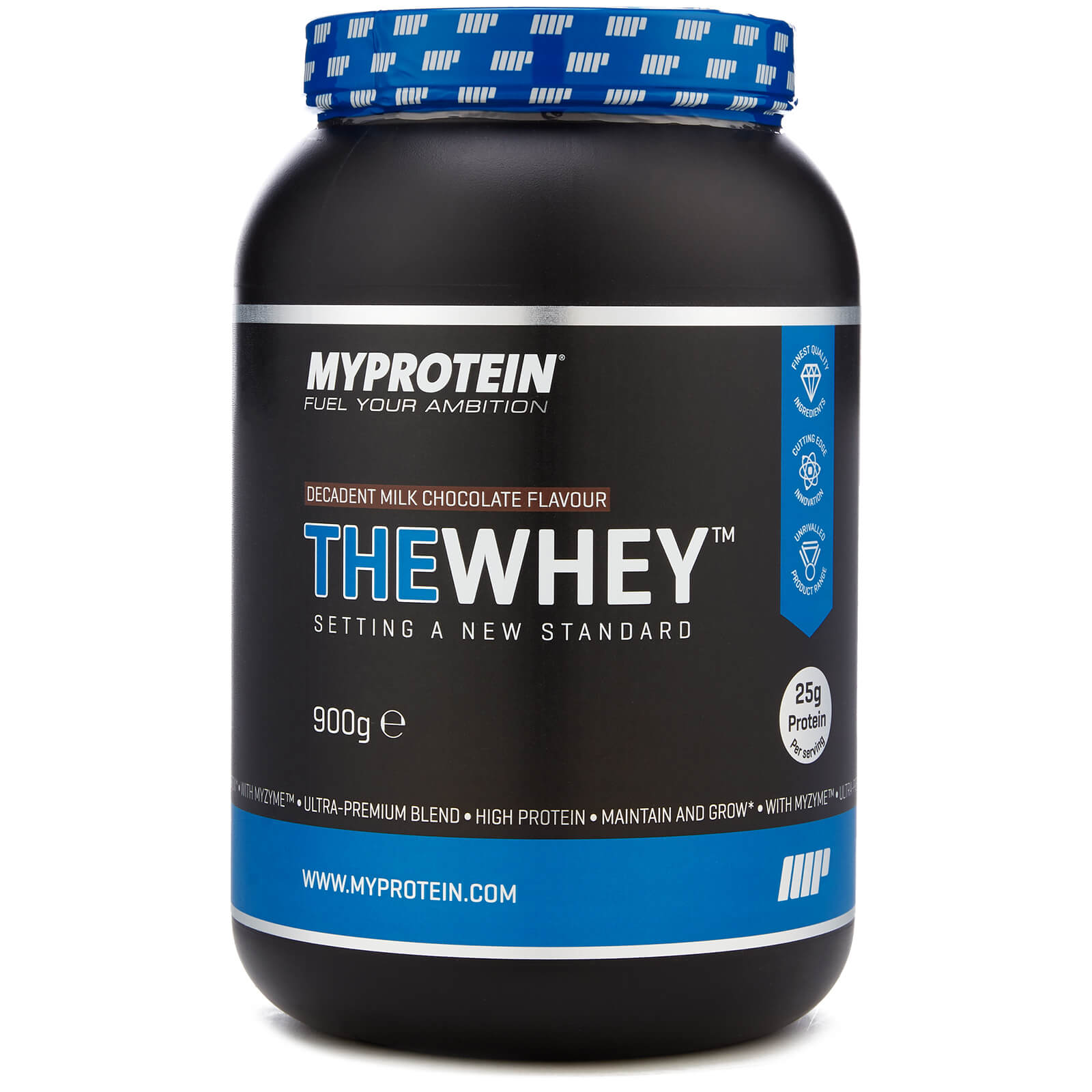 THEWHEY - Decadent Milk Chocolate - 900g