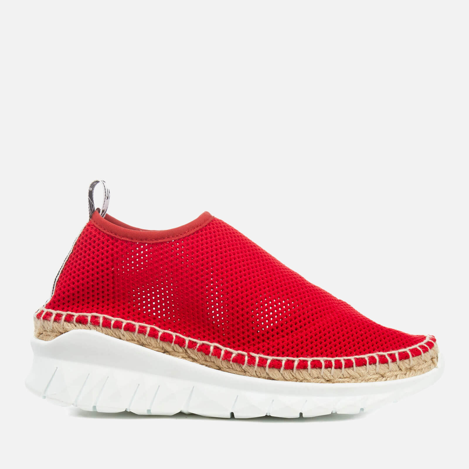 fbd9d927 KENZO Women's K Lastic Hybrid Sports Espadrilles - Vermillion - Free UK  Delivery over £50
