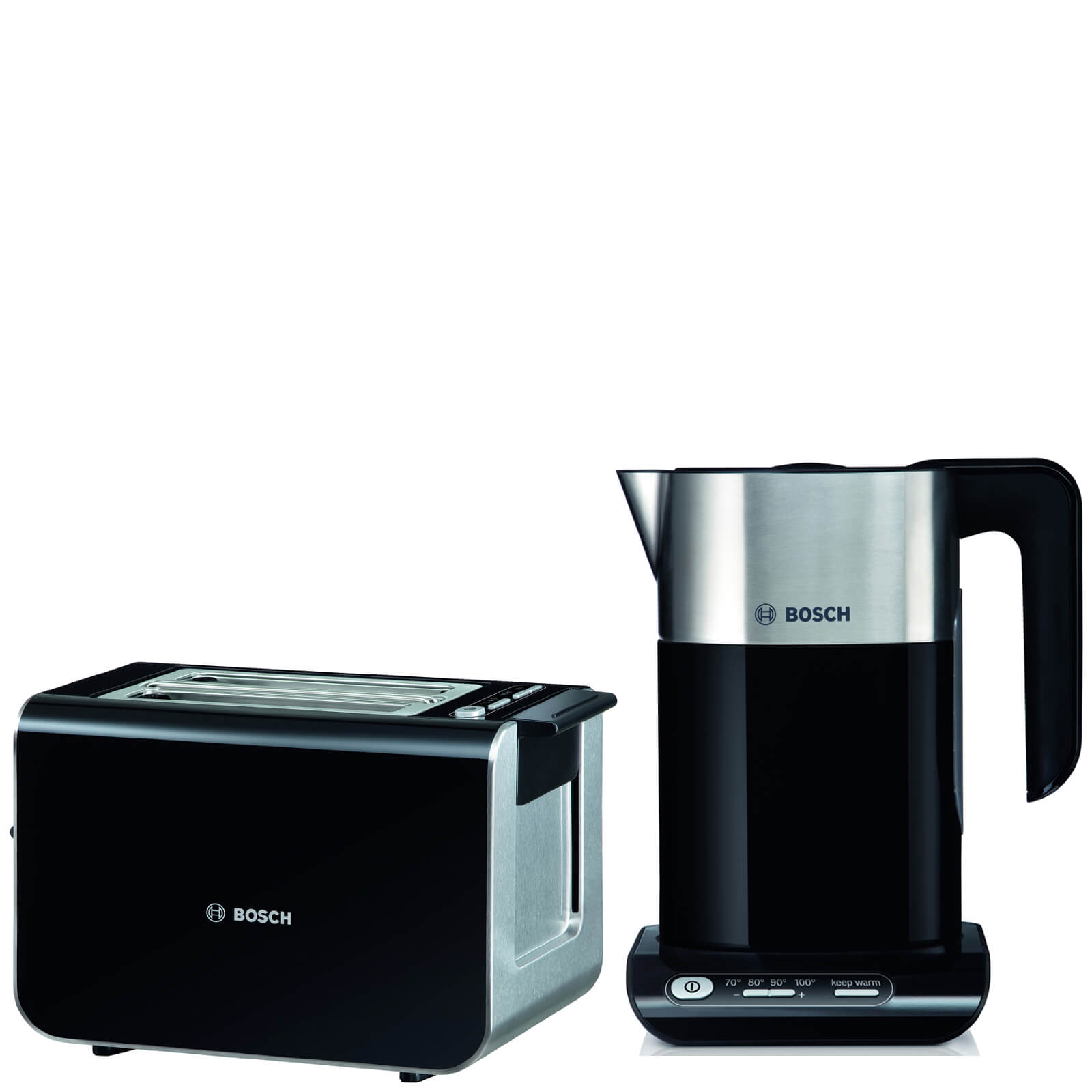 eac7a9e9b2c Bosch TWK8633GB Styline Toaster and Kettle - Black