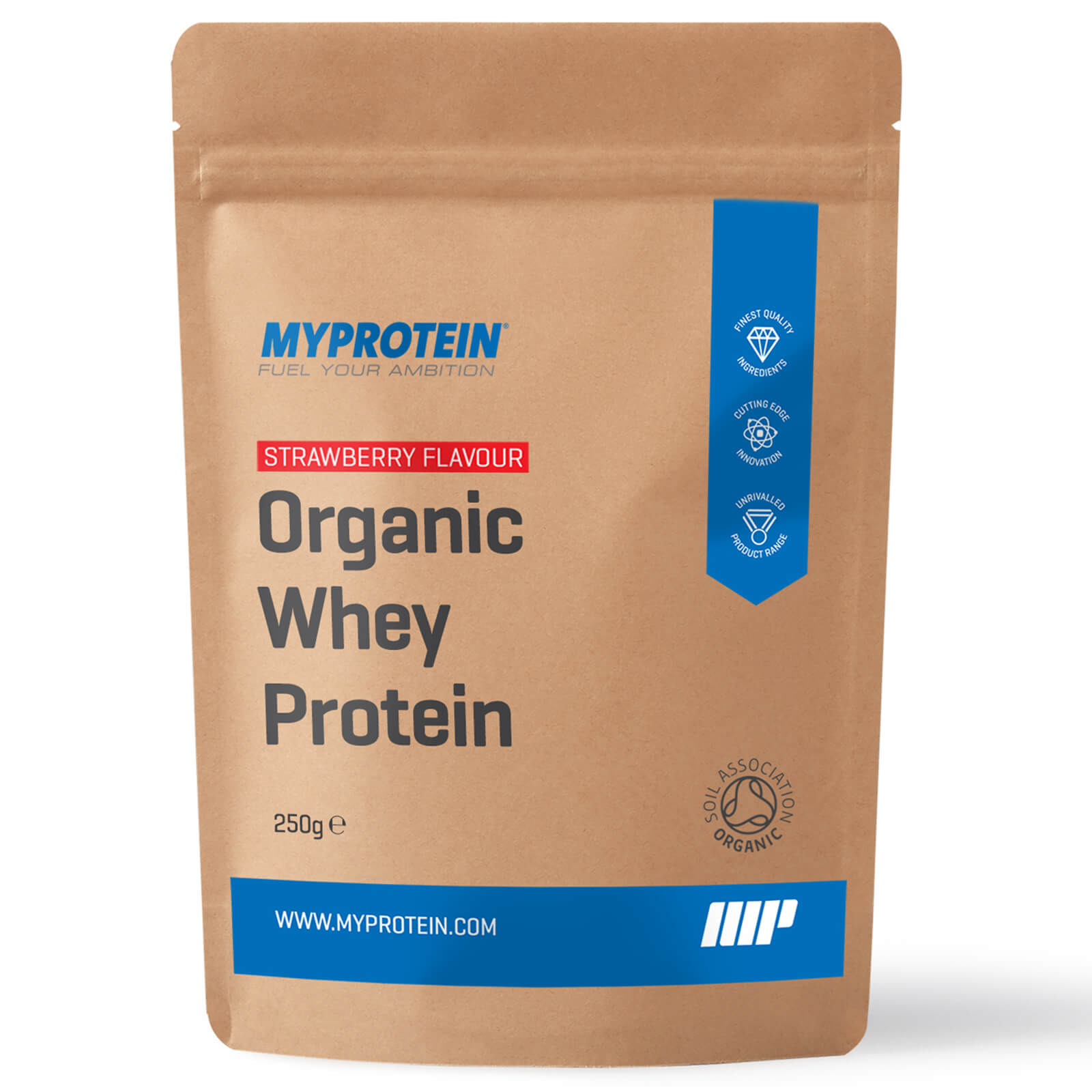 Organic Whey Protein - Strawberry Flavour- 250g