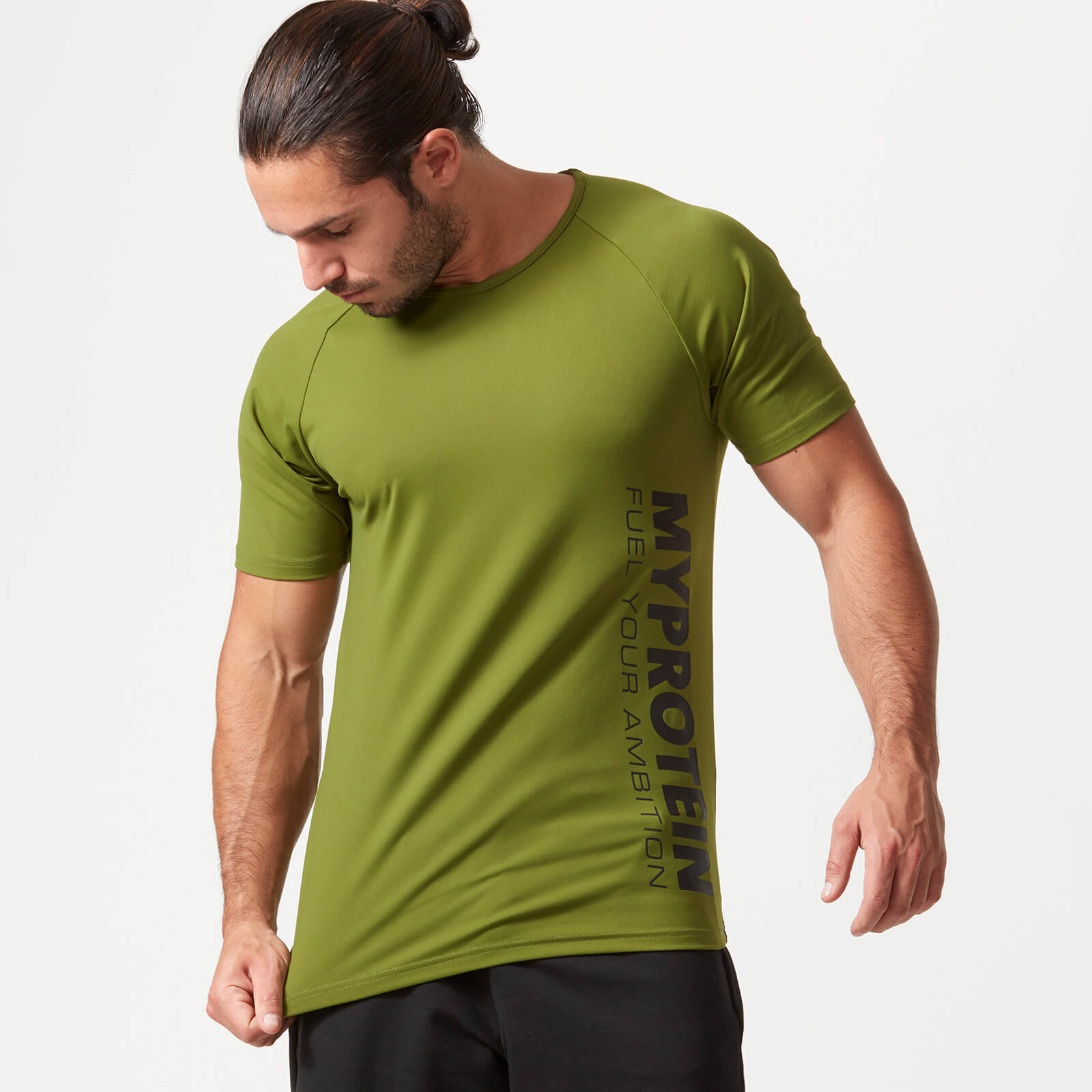 Bold Tech T-Shirt - Khaki - S