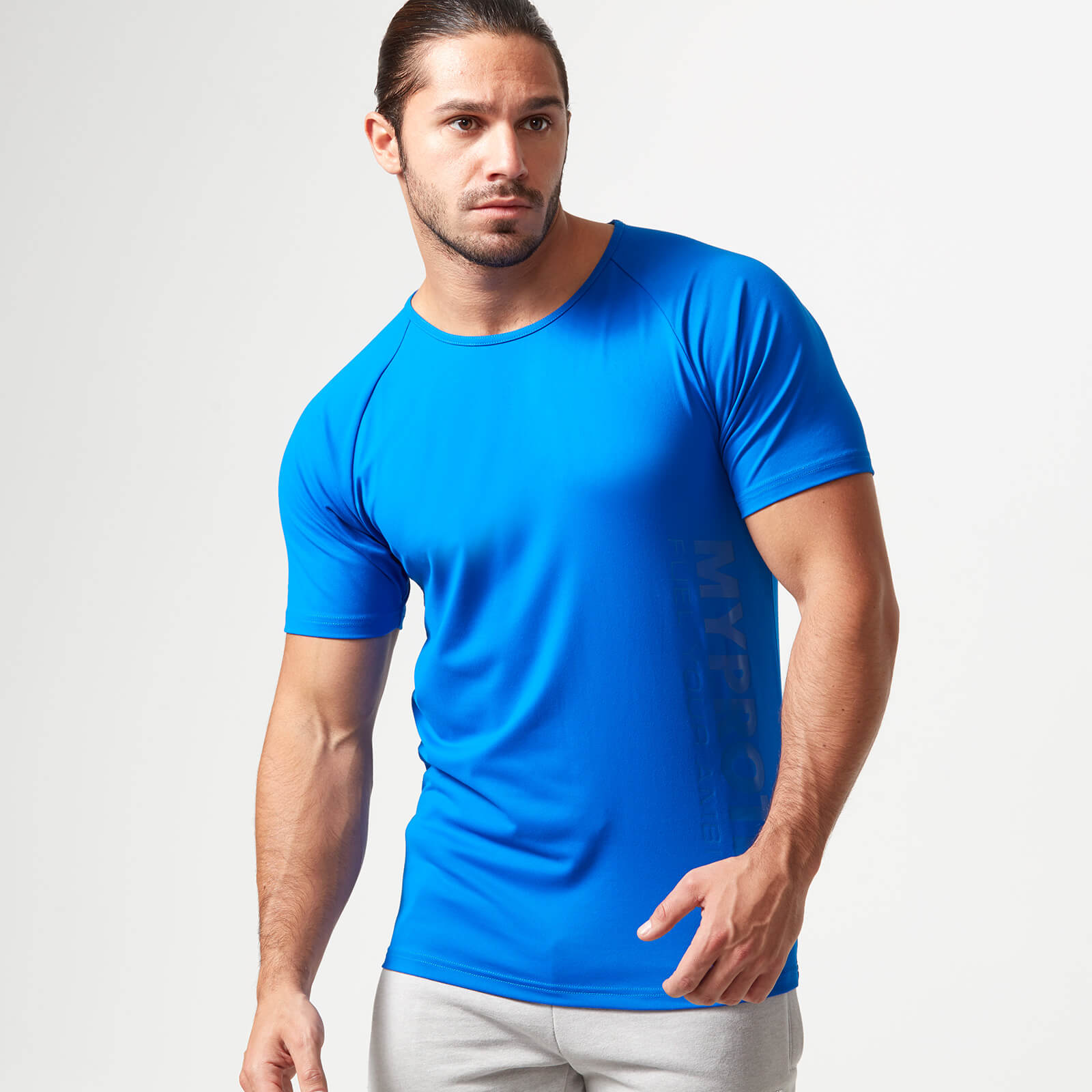 Myprotein Bold Tech T-Shirt - Blue - S