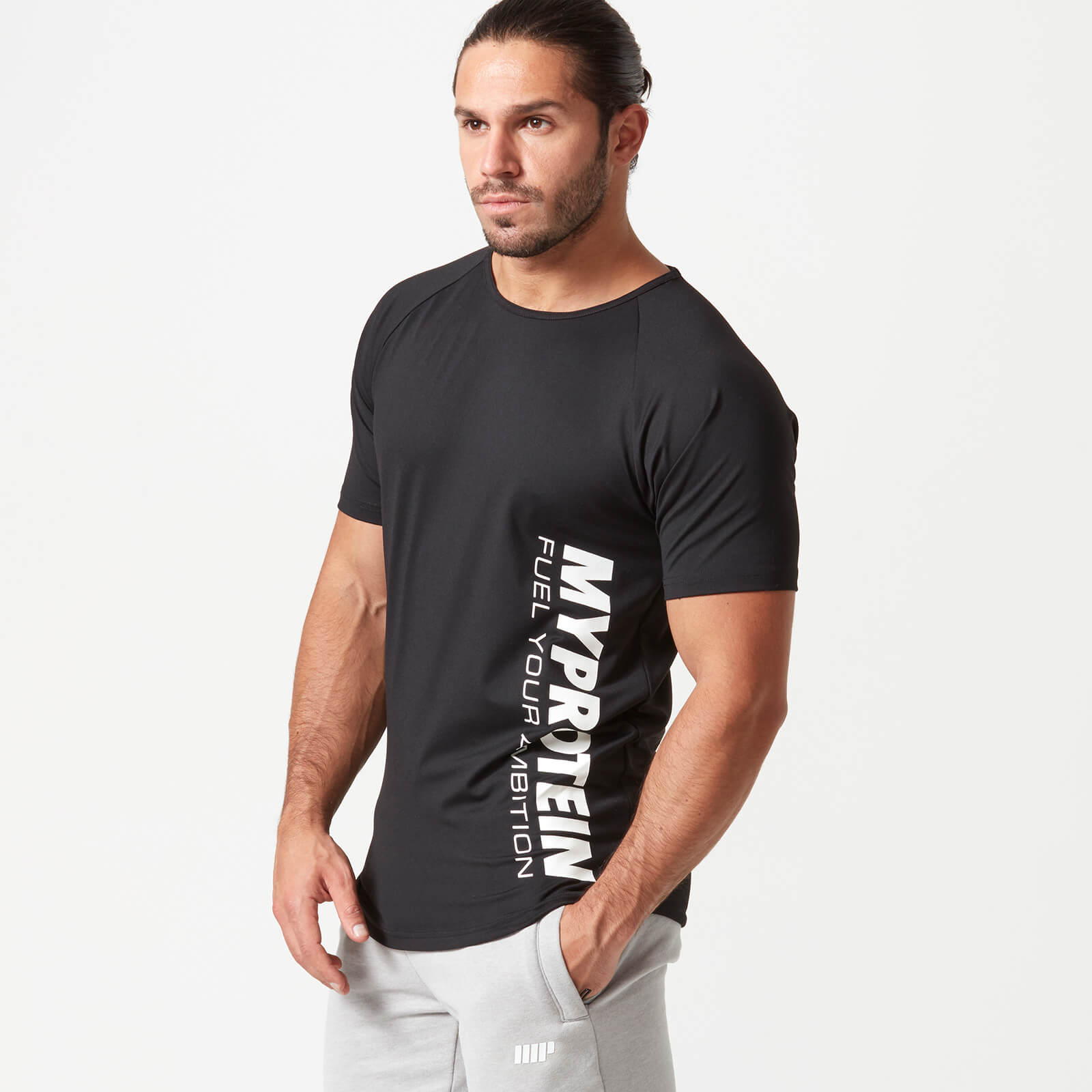 Bold Tech T-Shirt - Black - S