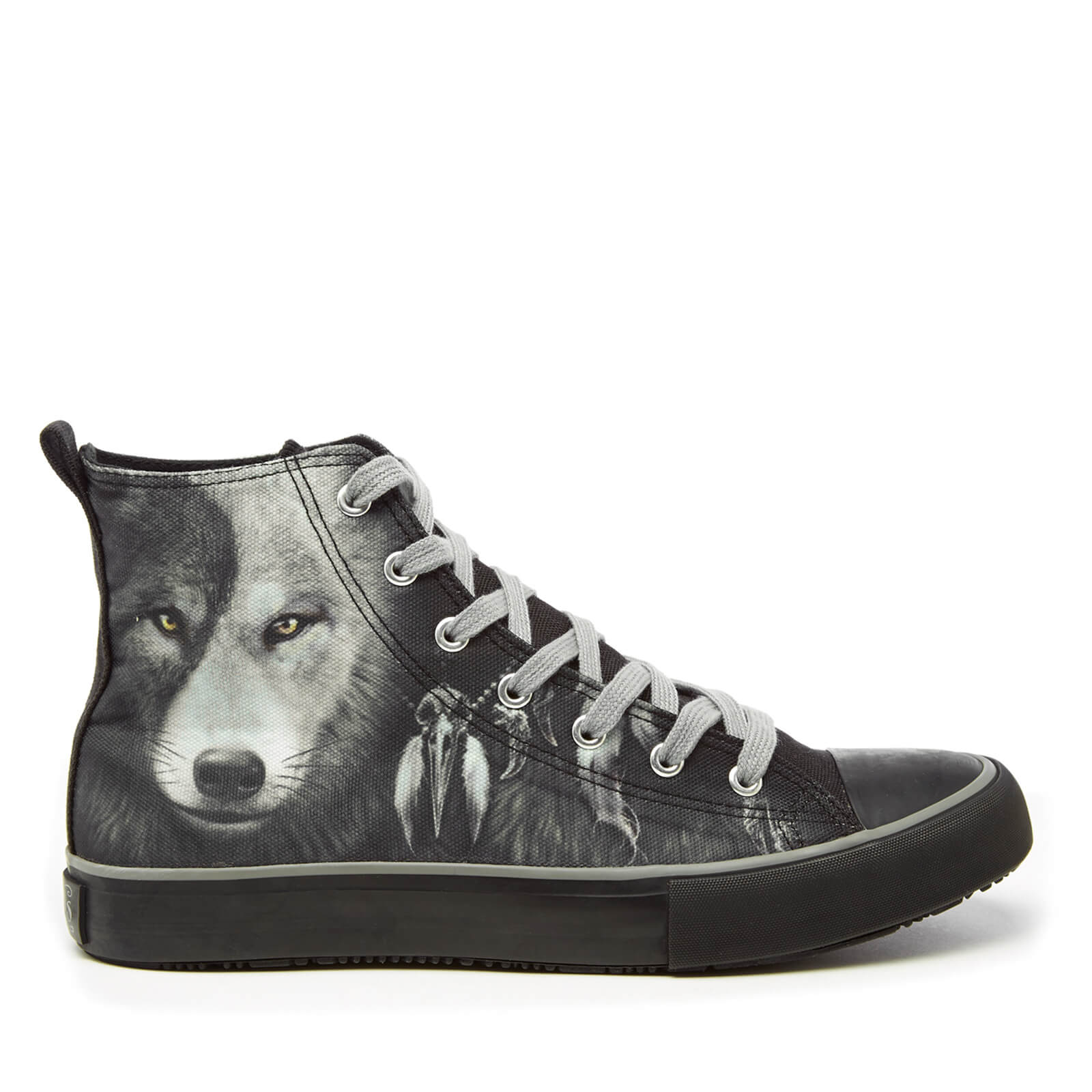 Chaussures Montantes Homme Wolf Yin Yang Spiral