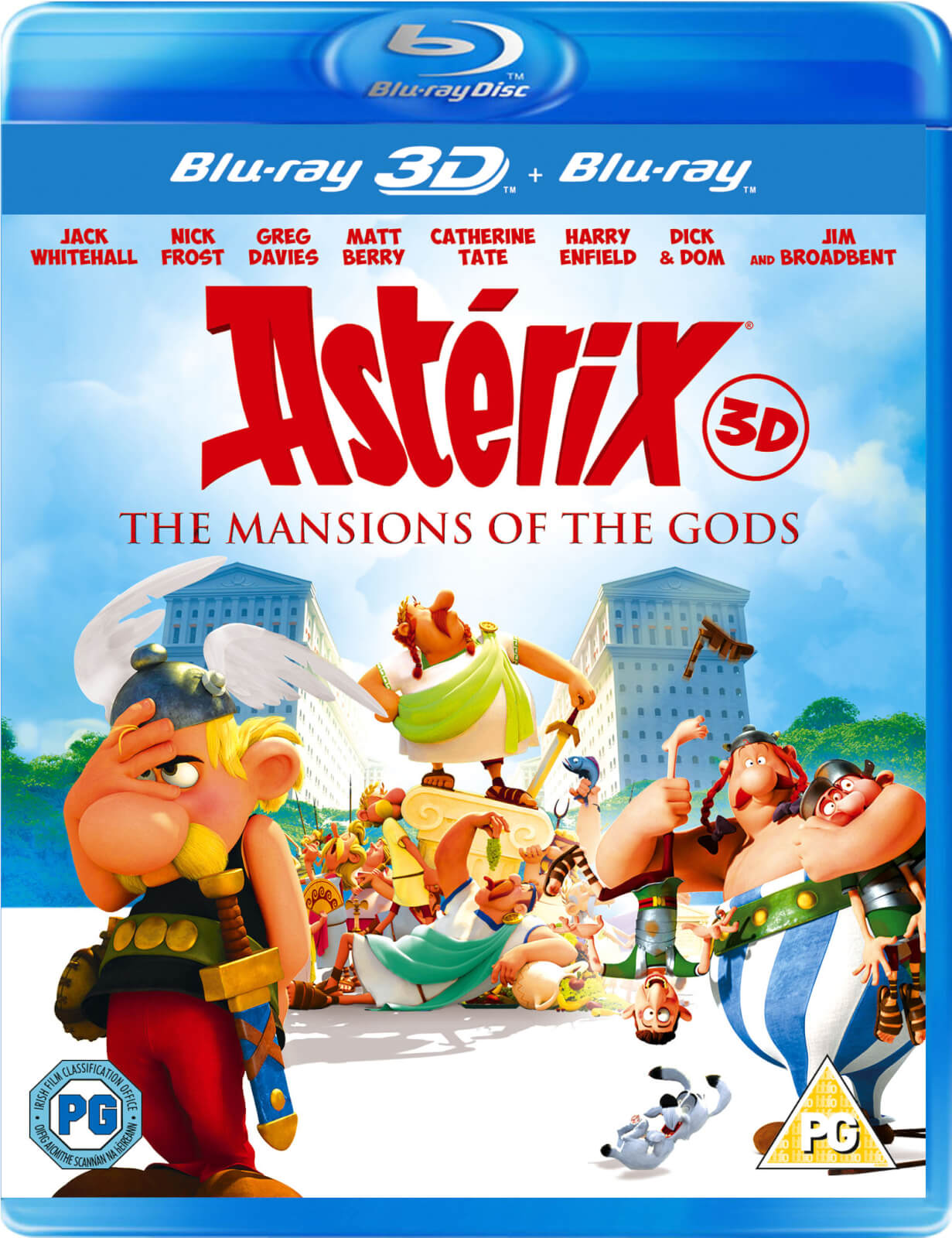 Asterix & Obelix: Mansion Of The Gods 3D (Includes 2D
