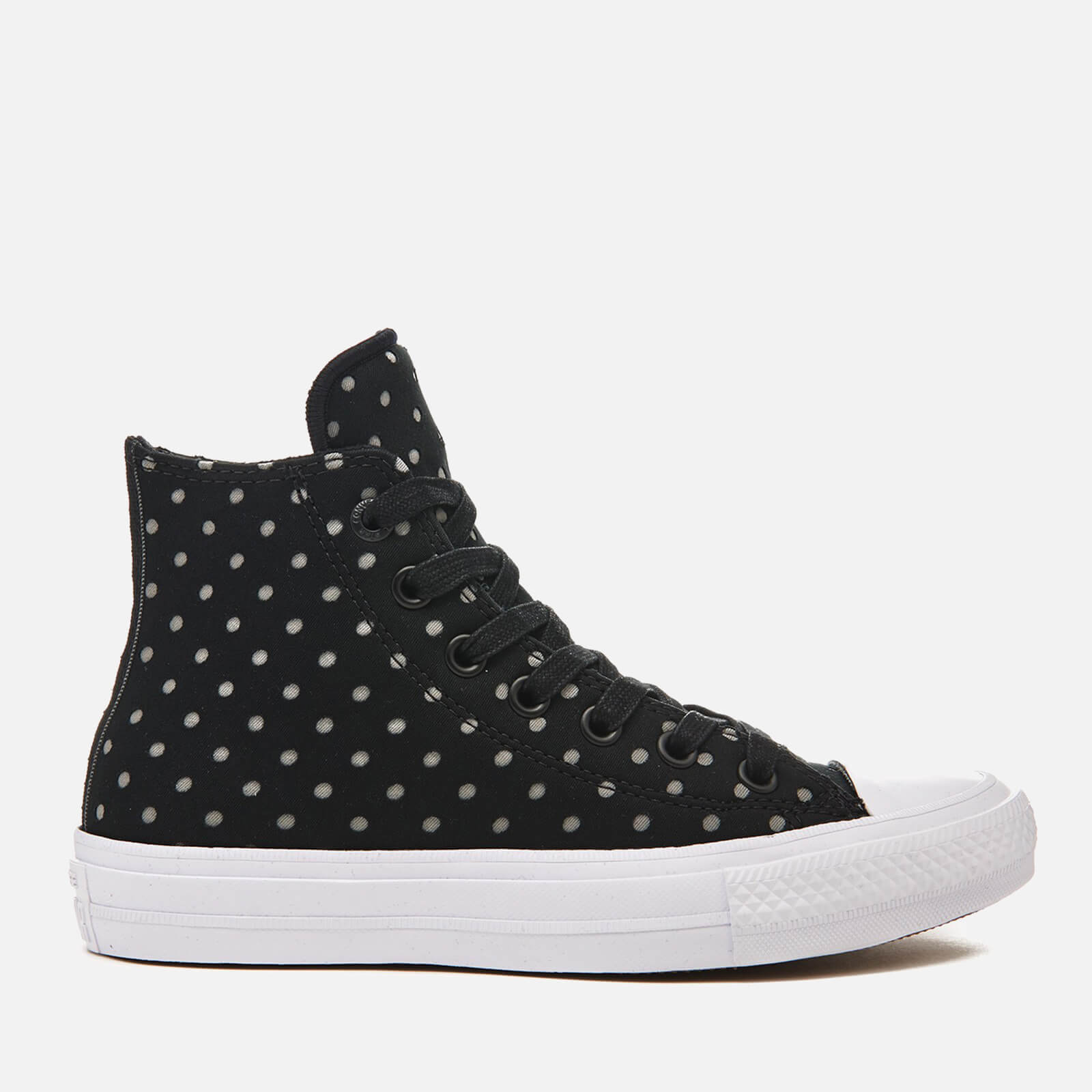 c8fa79c717f5 Converse Women s Chuck Taylor All Star II Hi-Top Trainers - Black Dolphin White  - Free UK Delivery over £50
