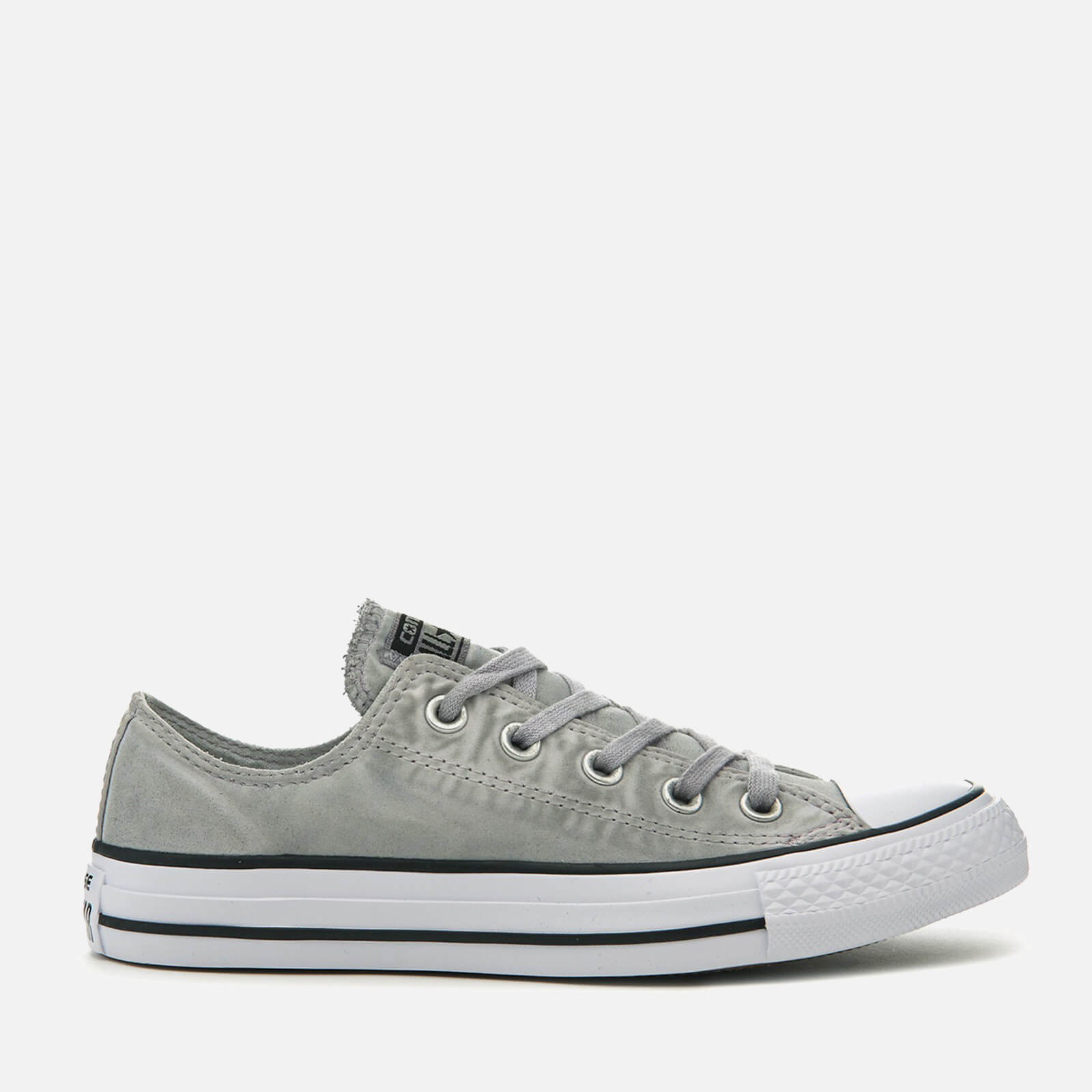 b8afc0a90bccc1 Converse Chuck Taylor All Star Ox Trainers - Dolphin Black White - Free UK  Delivery over £50