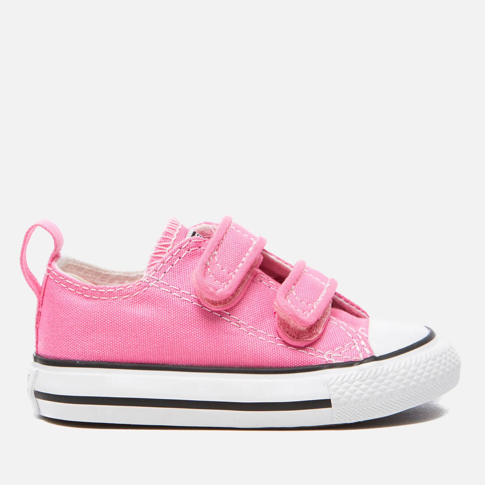 e9a9b2b6c Converse Toddlers' Chuck Taylor All Star V Trainers - Pink Champagne   FREE  UK Delivery   Allsole