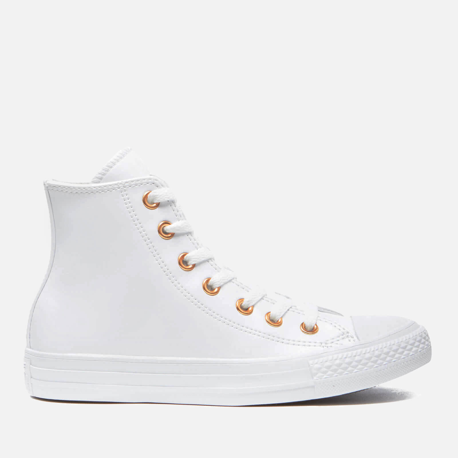 d573d3aa1030 Converse Women s Chuck Taylor All Star Hi-Top Trainers - White Gold - Free  UK Delivery over £50
