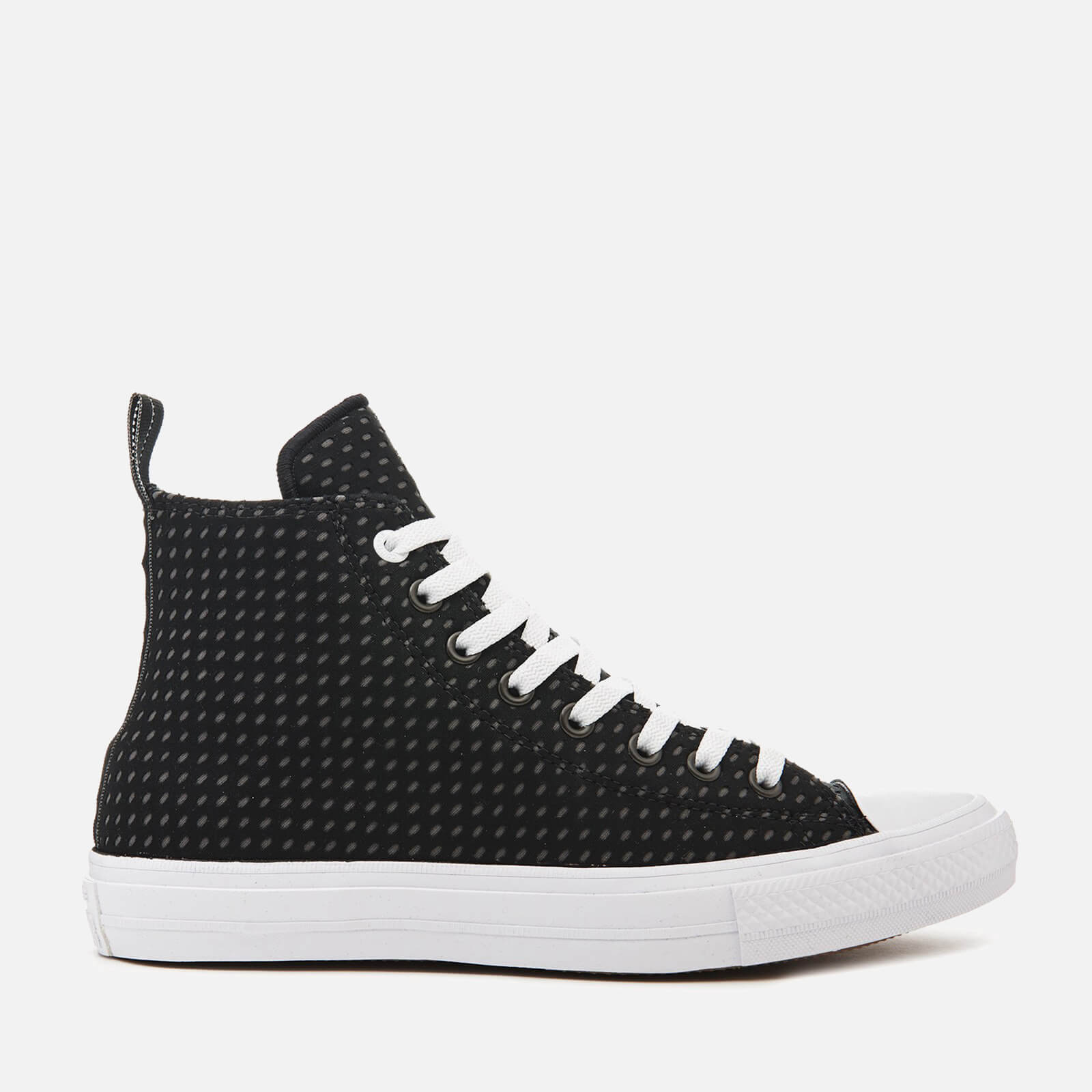 8da321ea7662 Converse Men s Chuck Taylor All Star II Hi-Top Trainers - Black Thunder  White - Free UK Delivery over £50
