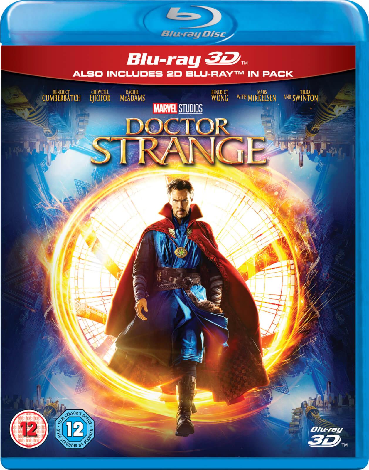 Doctor Strange 3d Includes 2d Version