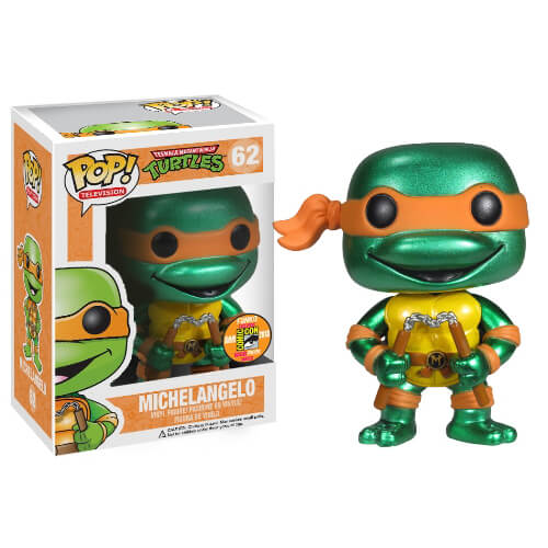 Funko Michelangelo (Metallic) Pop! Vinyl