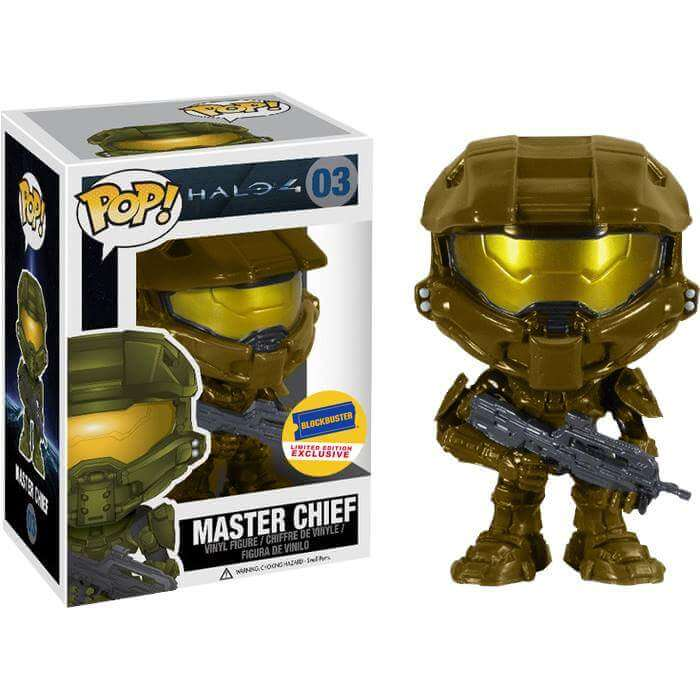 Funko Master Chief (Gold) Pop! Vinyl