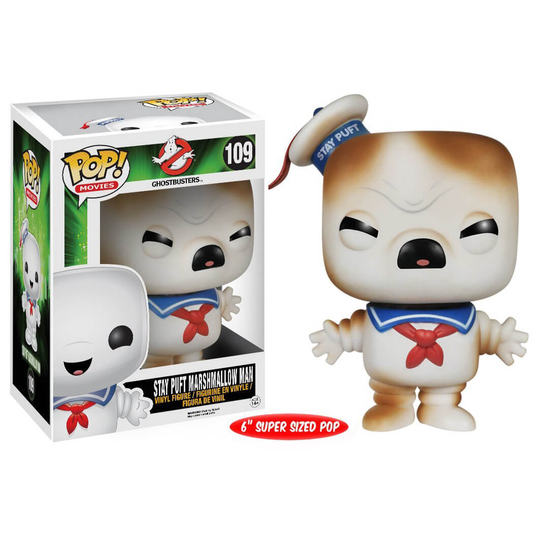 Funko Stay Puft Marshmallow Man (Toasted) Pop! Vinyl