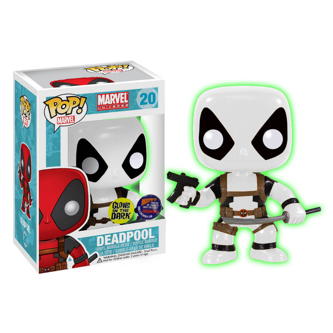 Funko Deadpool B&W Glow (Matt