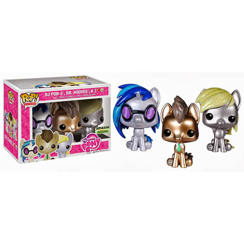Funko Mlp Amazon Exclusive 3-Pack Pop! Vinyl