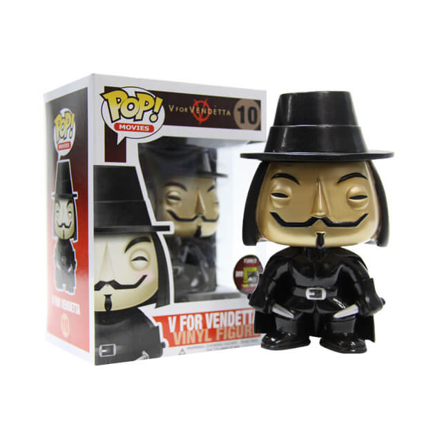 Funko V For Vendetta (Metallic) Pop! Vinyl