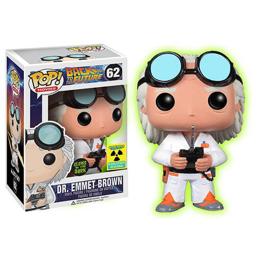 Funko Doc Brown (GITD) Pop! Vinyl