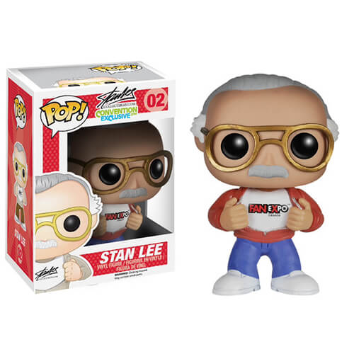 Funko Stan Lee (Fan Expo) White Shoes Pop! Vinyl