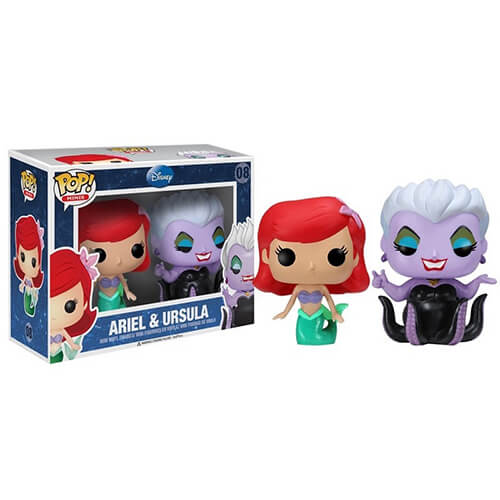 Funko Ariel And Ursula Pop! Vinyl