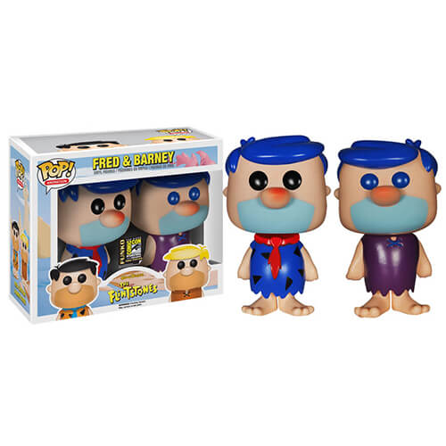 Funko Fred And Barney Blue Hair Set (Sold Out) Pop! Vinyl