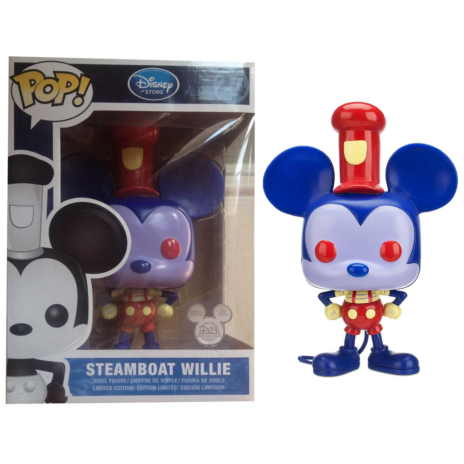 Funko Steamboat Willie D23 Pop! Vinyl
